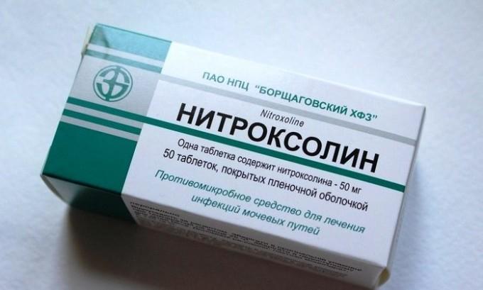 Чтобы избавиться от болезни можно принимать препарат Нитроксолин